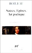 Satires, épîtres, L'art poétique