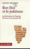 Ben Sira et le judaïsme