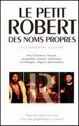 Le Petit Robert des noms propres et atlas géopolitique et culturel
