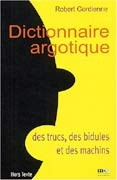 Dictionnaire argotique