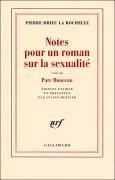 Notes pour un roman sur la sexualité