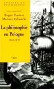 La Philosophie en Pologne, 1918-1939