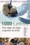 1.000 Lettres pour régler vos litiges