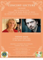 Concert-lecture avec Marie-Christine Barrault et Frédéric Vaysse-Knitter