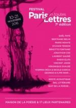 Festival Paris en Toutes Lettres 2016