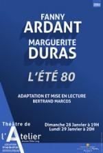 Fanny Ardant lit Marguerite Duras : L'Eté 80