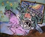 """""""Minotaure à la carriole"""", Picasso, exposition """"Monaco fête Picasso"""" jusqu'au 15 septembre au Grimaldi Forum"""