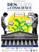 Des clics de conscience - Affiche