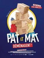 Pat et Mat déménagent - Affiche