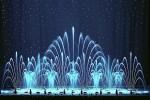 """La féérie des eaux, avant chaque projection de """"La Reine des Neiges"""" au Grand Rex"""