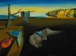 Salavador Dali, « Persistance de la Mémoire ». Toile exposée au Centre Pompidou dans le cadre de la rétrospective consacrée au peintre.