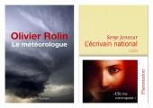 Prix des Deux Magots : Serge Joncour ou Olivier Rolin ?