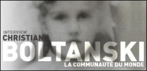INTERVIEW DE CHRISTIAN BOLTANSKI