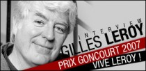 INTERVIEW DE GILLES LEROY