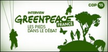INTERVIEW GREENPEACE FRANCE