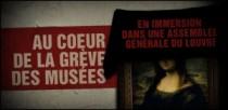 AU COEUR DE LA GREVE DES MUSEES