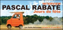 INTERVIEW DE PASCAL RABATE