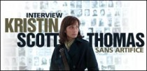 INTERVIEW DE KRISTIN SCOTT-THOMAS