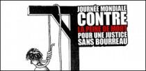JOURNEE MONDIALE CONTRE LA PEINE DE MORT