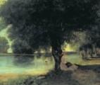 Courbet, Corot, Auguin, Pradelles
