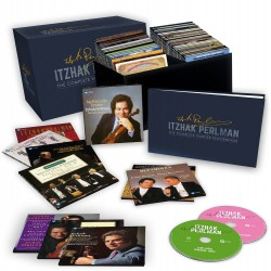 Itzhak Perlman : «The Complete Warner Recordings». Coffret 77 CD.