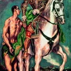 El Greco, Saint Martin partageant son manteau