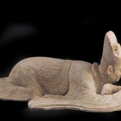 Les Fils du Ciel - Officiel en terracotta, dynastie Tang (618-907)