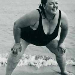Coney Island Bather (Baigneuse, Coney Island), New York, c. 1939-1941