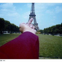 Étude de perspective – La tour Eiffel 1995-2003
