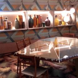 La salle à manger Miroir du temps de Dimorestudio