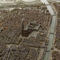 Vue de la cathédrale de Strasbourg
