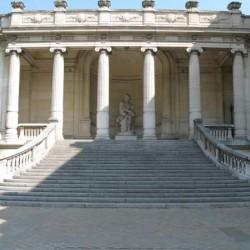 Arrière du musée dans le parc