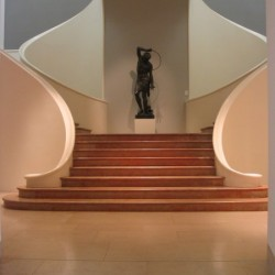 Escalier de l'extension de 1936