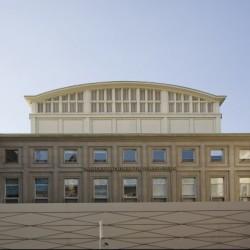 Le TNS, façade Malraux