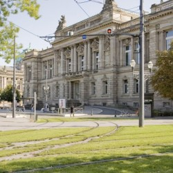 Le TNS, façade République