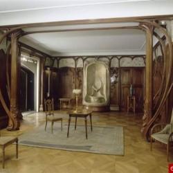 Salle aux boiseries Art Nouveau par Charpentier