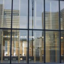 Reflet des tours de la BnF