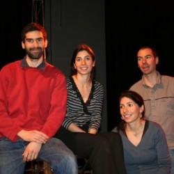 Fred, Sam et les jumelles Alice et Mathilde