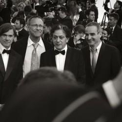 Andrei Konchalovsky (milieu gauche) - Cannes 2007