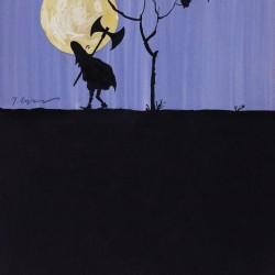 Sans titre [dessin pour Les Trois Brigands], 1961