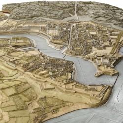 Brest. Vue de la ville depuis le sud-ouest