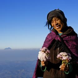 Guatemala, près du mirador de Los Cuchumatanes, 18 décembre 2012