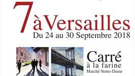 L'expo 7 à Versailles investit le Carré à la farine