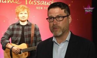Ed Sheeran : son double de cire dévoilé