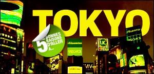 CINQ BONNES RAISONS D'ALLER À TOKYO
