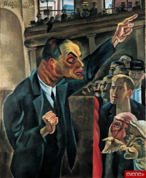 Conrad Felixmüller, 'L'Agitateur', 1920