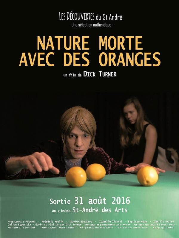 Nature morte avec des oranges - Affiche