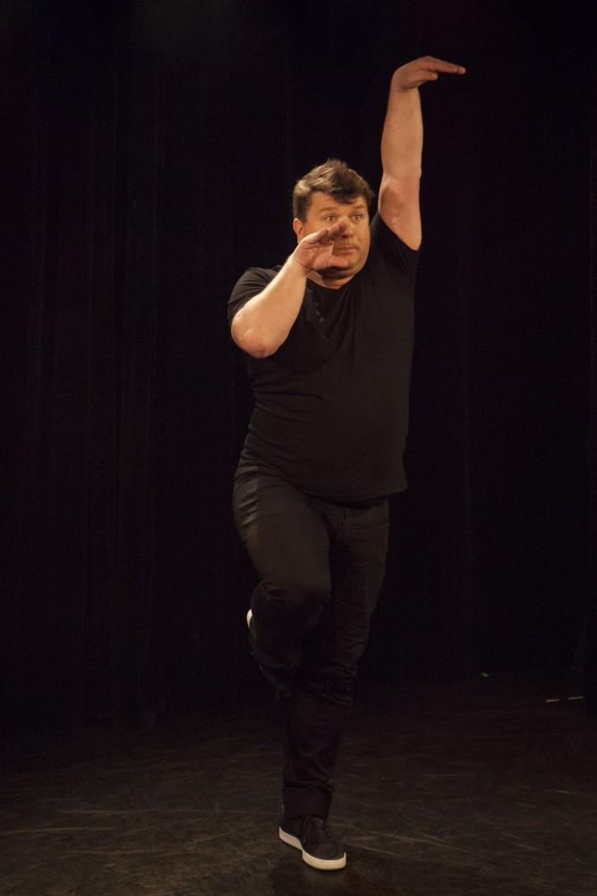 Rodolphe Sand, seul en scène