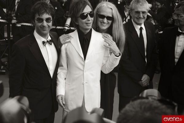 Claude Lelouch (à droite) - Cannes 2007