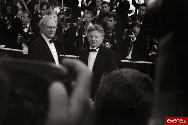 Ken Loach (à gauche) - Cannes 2007
